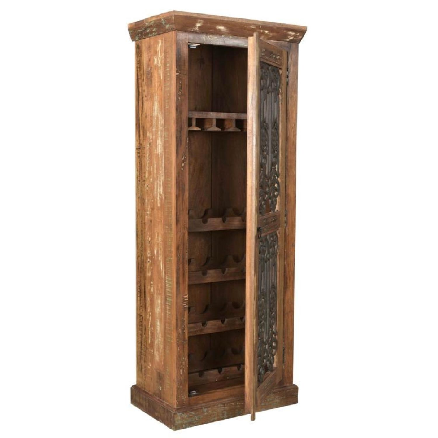 ... Designe Gallerie Reclaimed Wood Bar Cabinet 2 ...