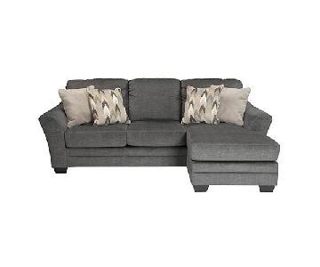 Ashley Braxlin Sectional Sofa w/ Reversible Chaise