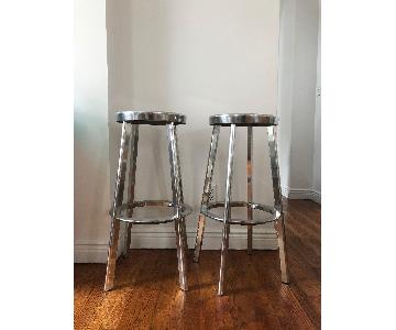ABC Carpet & Home Aluminum Barstool