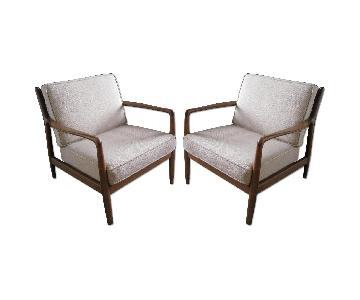 Authentic Danish Mid Century Chairs