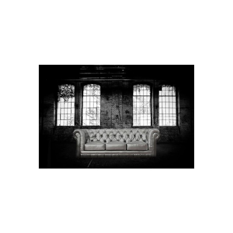 ... TOV Furniture Zahara Silver Leather Sofa 0 ...