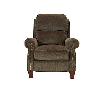 Raymour & Flanigan Pub Back Style Recliner