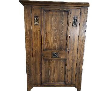 Hekman Furniture Pine Storage Cabinet/Armoire
