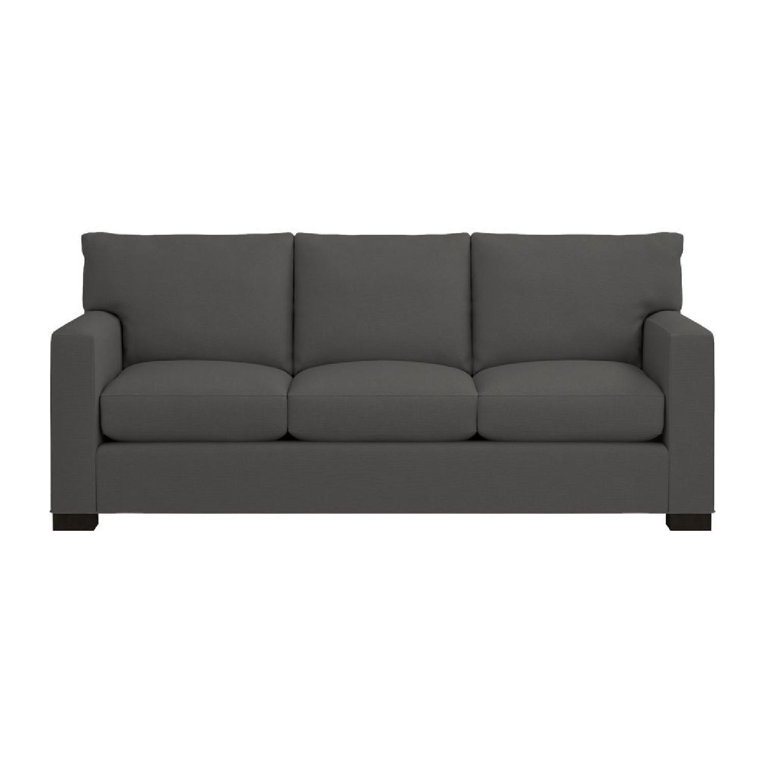 Crate U0026 Barrel Axis 3 Seat Queen Sleeper Sofa ...