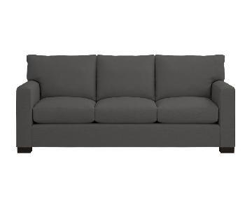Crate & Barrel Axis 3-Seat Queen Sleeper Sofa