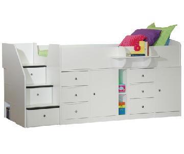 Berg Furniture Kid's Captain's Storage Bed