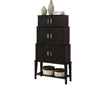 Monarch Furniture Stacking Style Storage Cabinet