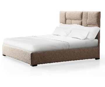 TOV Furniture Connor Beige King Bed