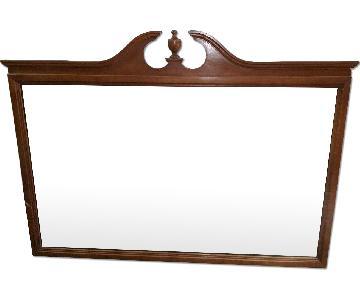 Antique Large Hanging Wall/Vanity Mirror