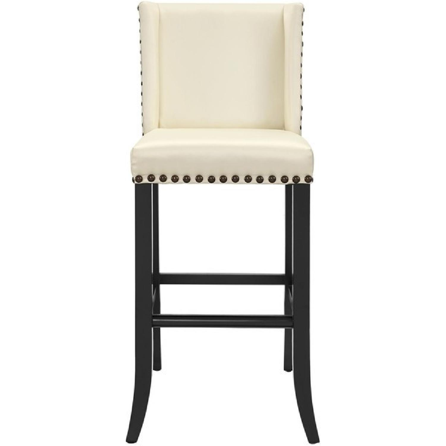 TOV Furniture Denver Cream Bar Stool
