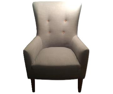 West Elm Mid Century Wing Chair