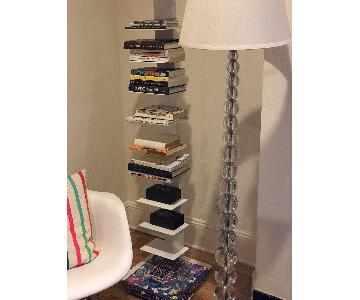 Pottery Barn Stacked Glass Floor Lamp