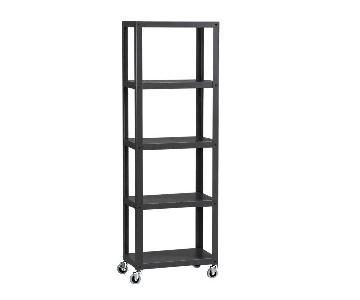 CB2 Go-Cart Carbon 5-Tier Shelf
