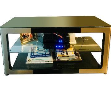 Glass Media Console