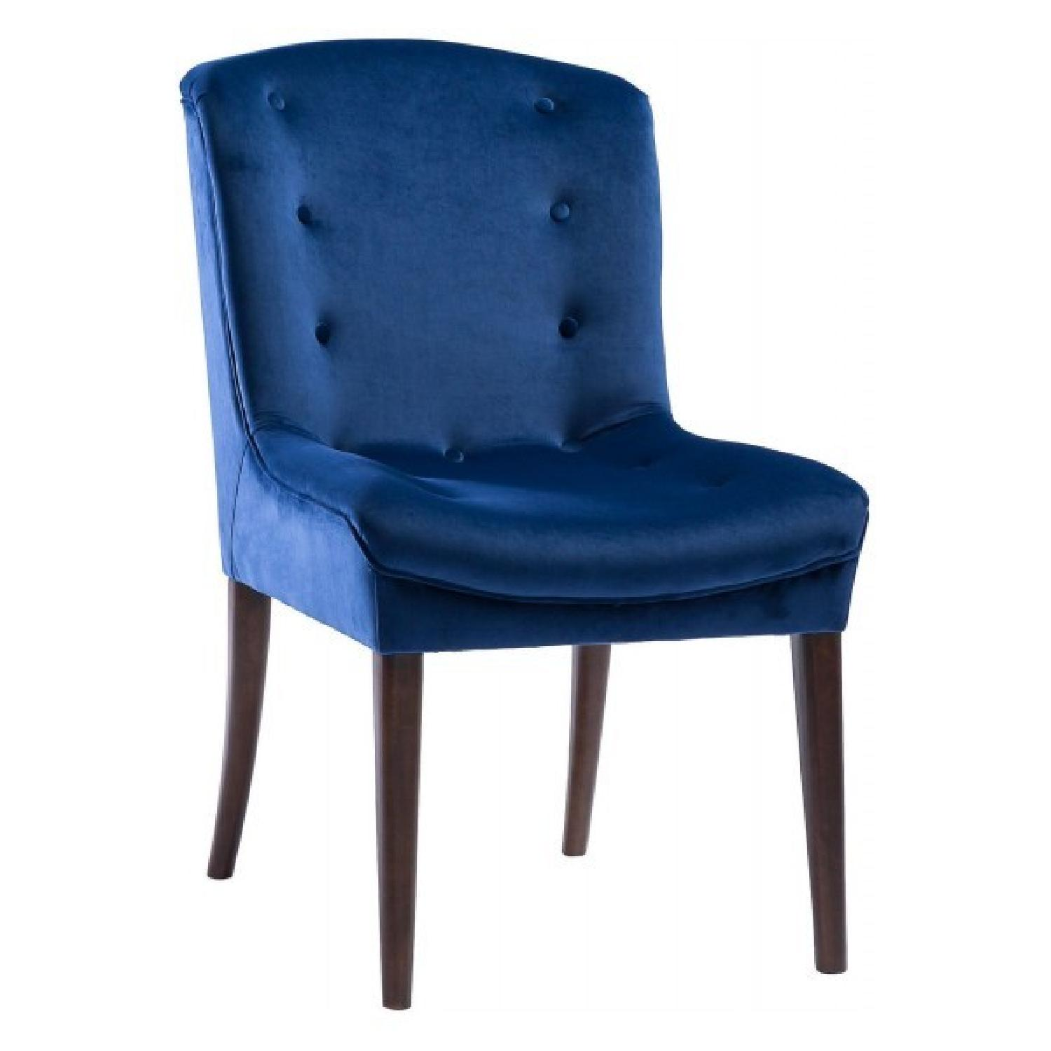 Popular TOV Furniture Victor Navy Velvet Chair - AptDeco FG04
