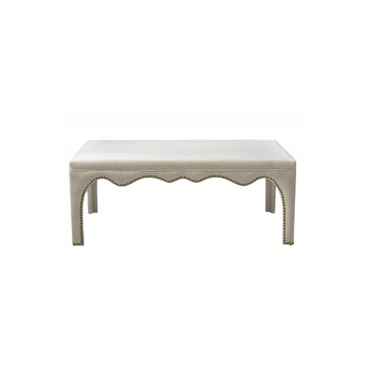 TOV Furniture Ditmas Beige Bench/Table