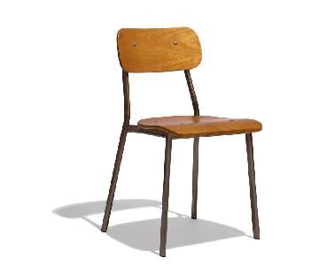 Industry West Linus Gunmetal Chair