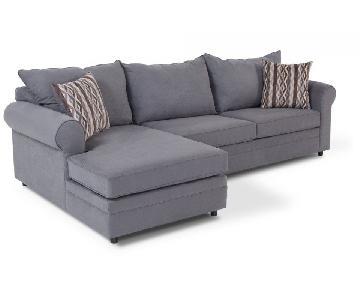 Bob's Venus 2-Piece Sleeper Sectional Sofa w/ Chaise