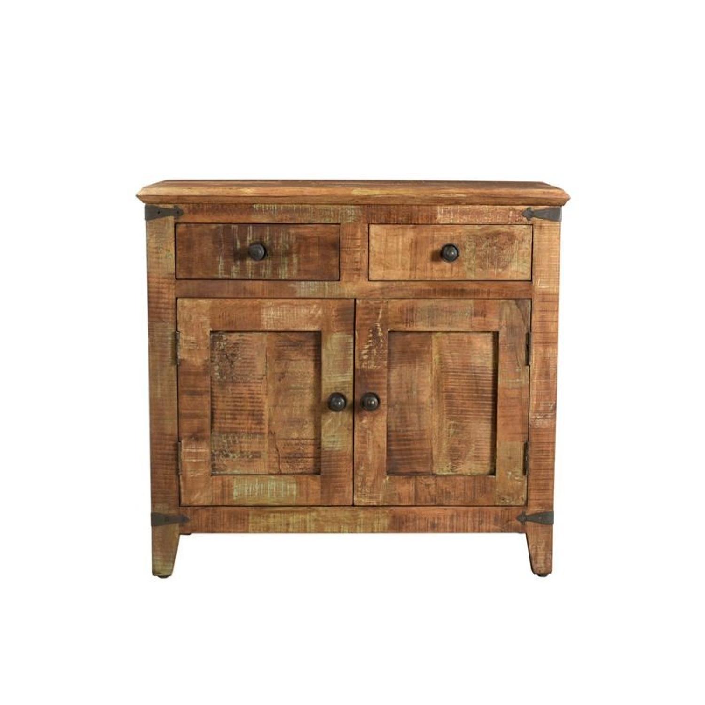 Designe Gallerie Mango Wood 3 Door Sideboard Aptdeco