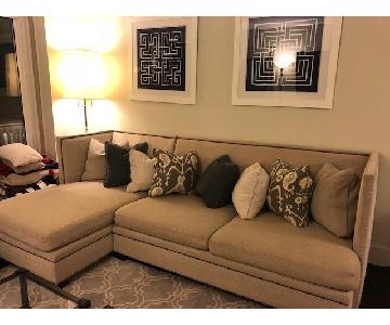 Safavieh 2 Piece Sectional Couch