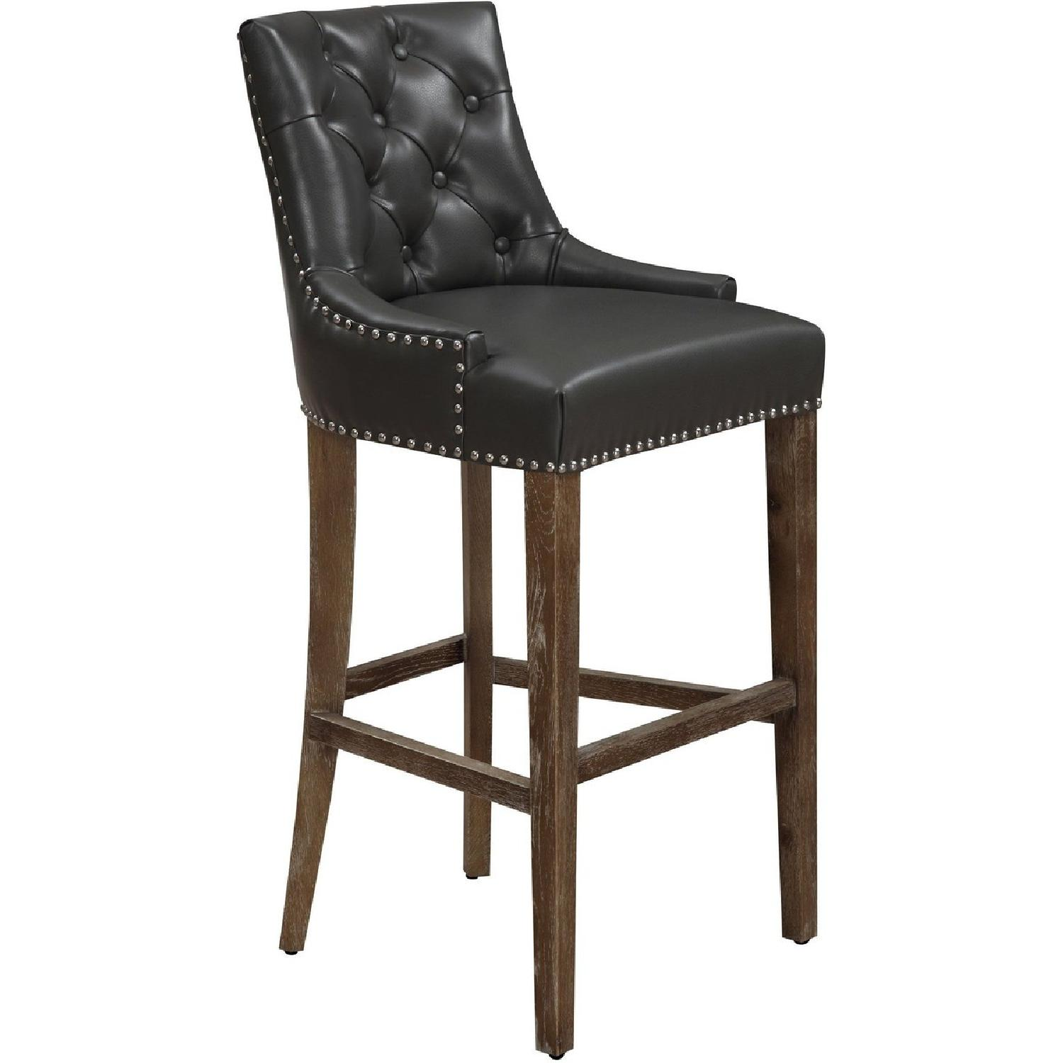 TOV Furniture Uptown Grey Counter Stool