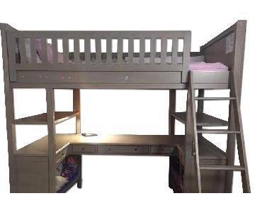 Restoration Hardware Emilia Study Bunk Bed