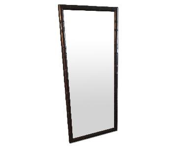 Pearl River Mart Custom Bamboo Framed Mirror