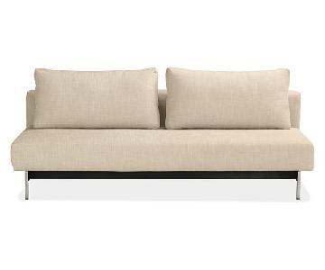 Room & Board Elke Armless Convertible Sleeper Sofa