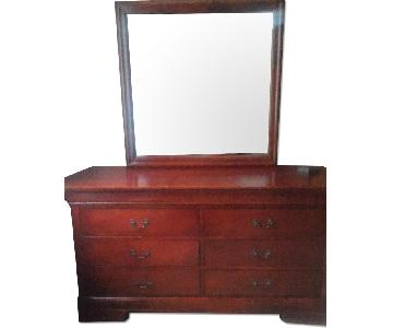 6 Drawer Dresser w/ Mirror