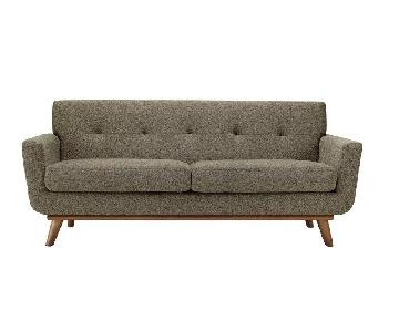 Langley Street Johnston Tufted Sofa & Ottoman