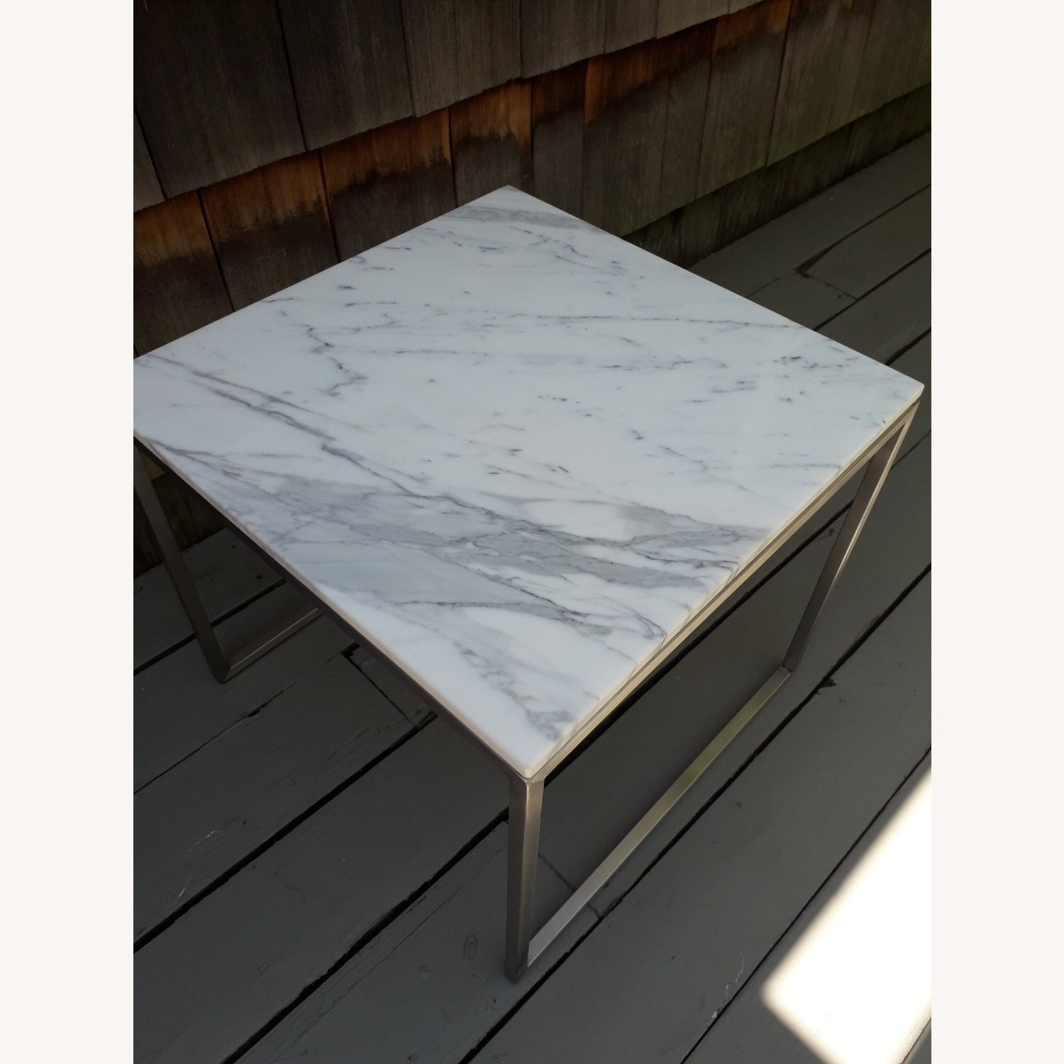 Design Within Reach Rubik Marble Side Tables - Pair - image-9