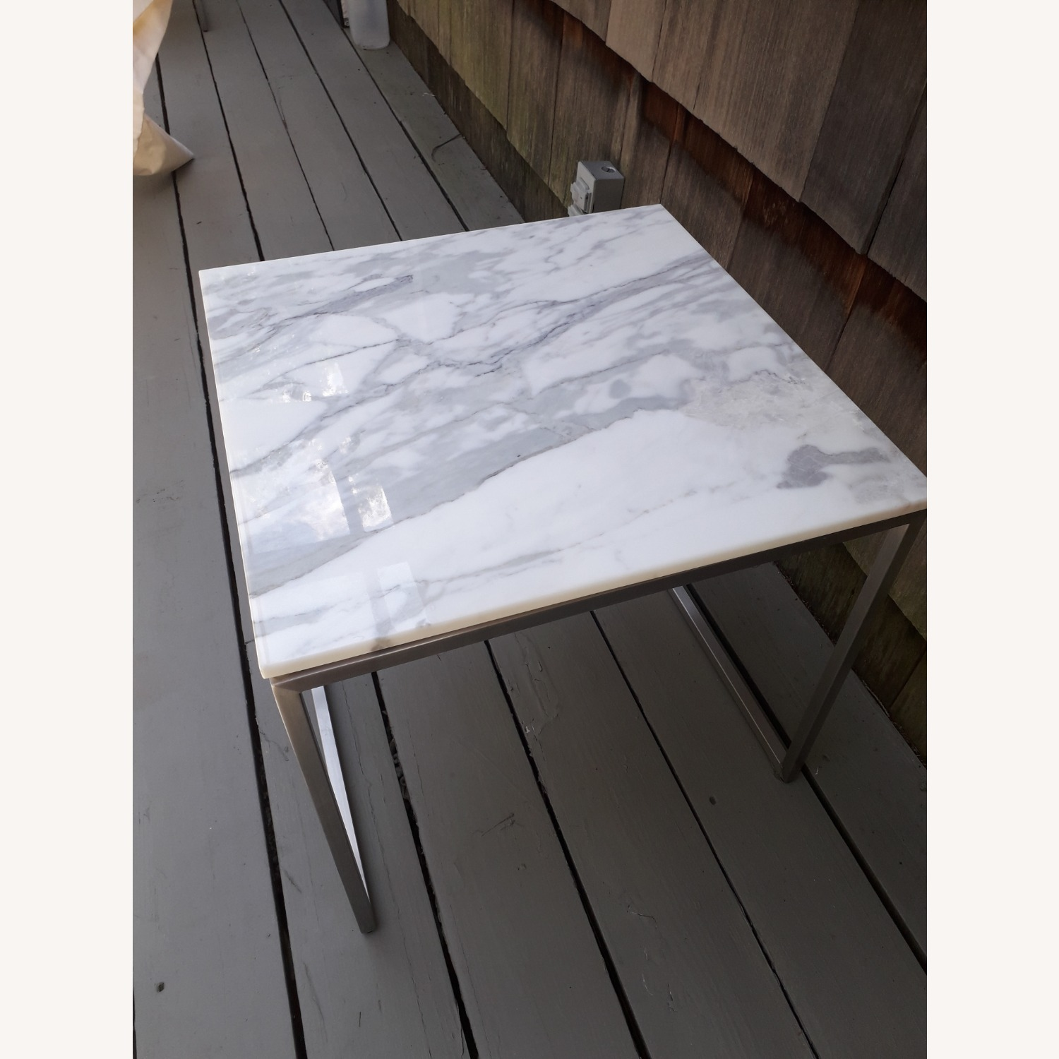 Design Within Reach Rubik Marble Side Tables - Pair - image-11