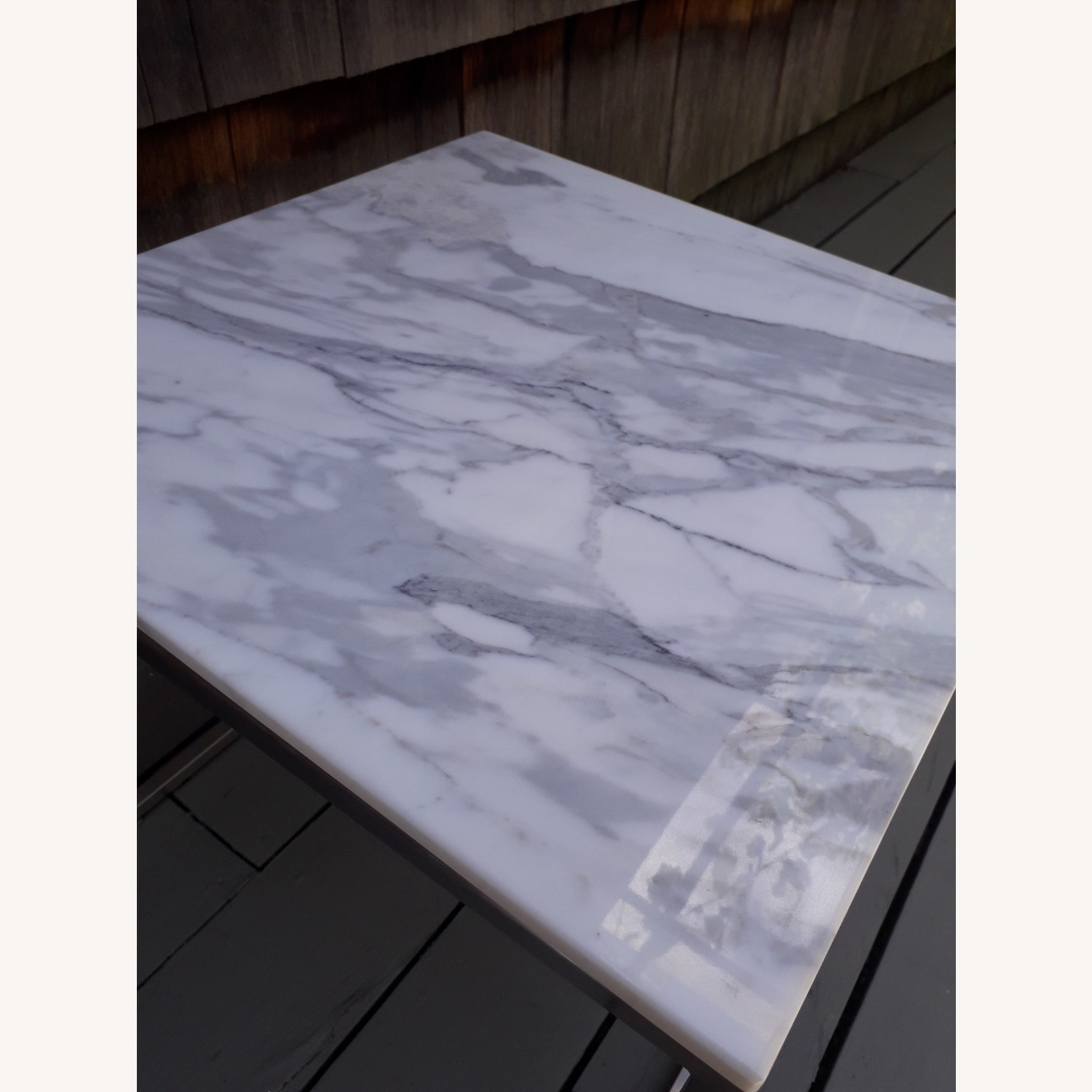 Design Within Reach Rubik Marble Side Tables - Pair - image-12
