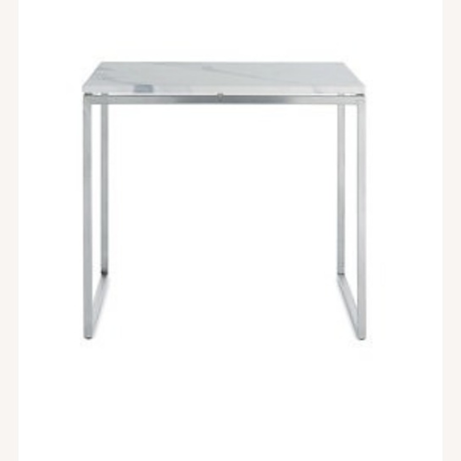 Design Within Reach Rubik Marble Side Tables - Pair - image-5