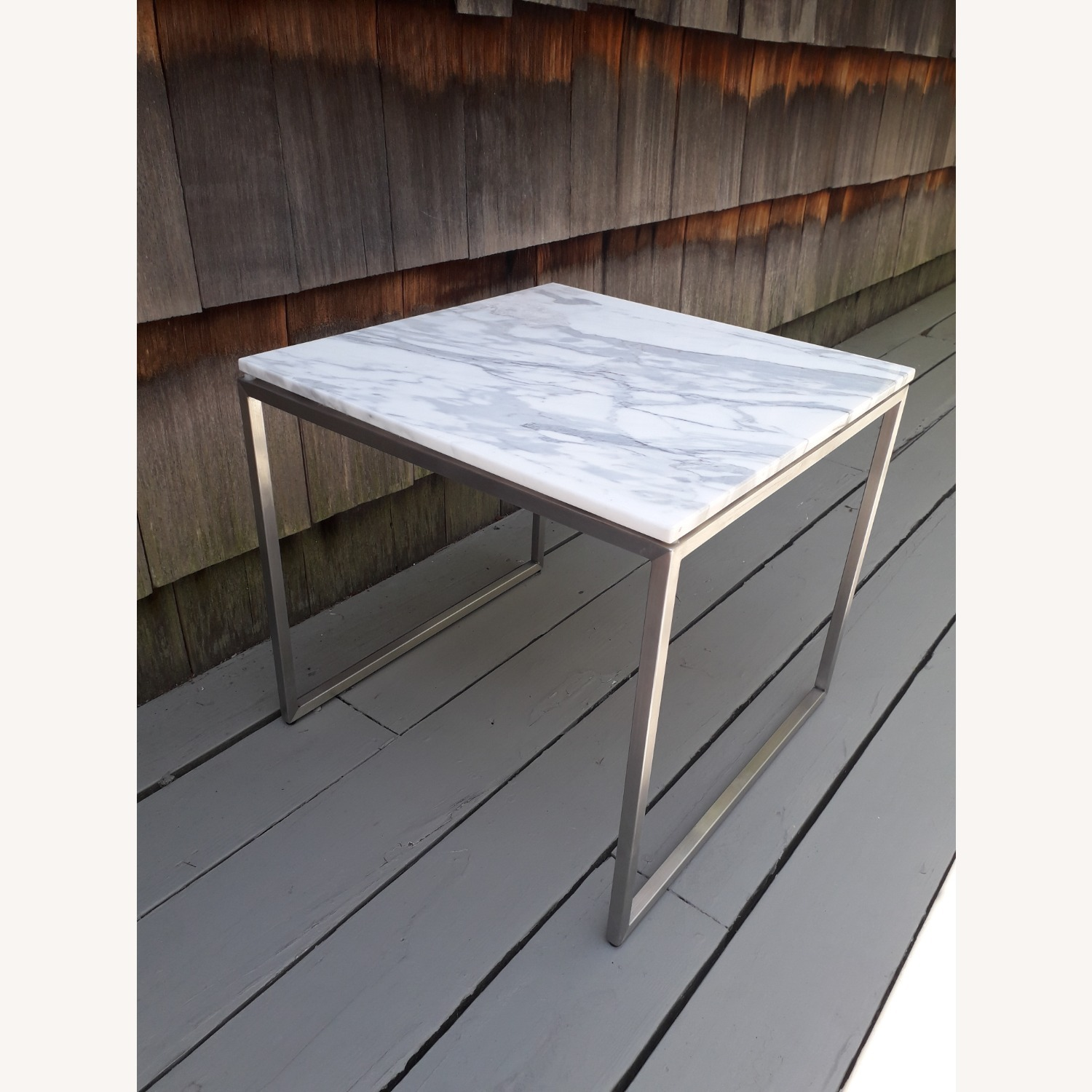 Design Within Reach Rubik Marble Side Tables - Pair - image-6
