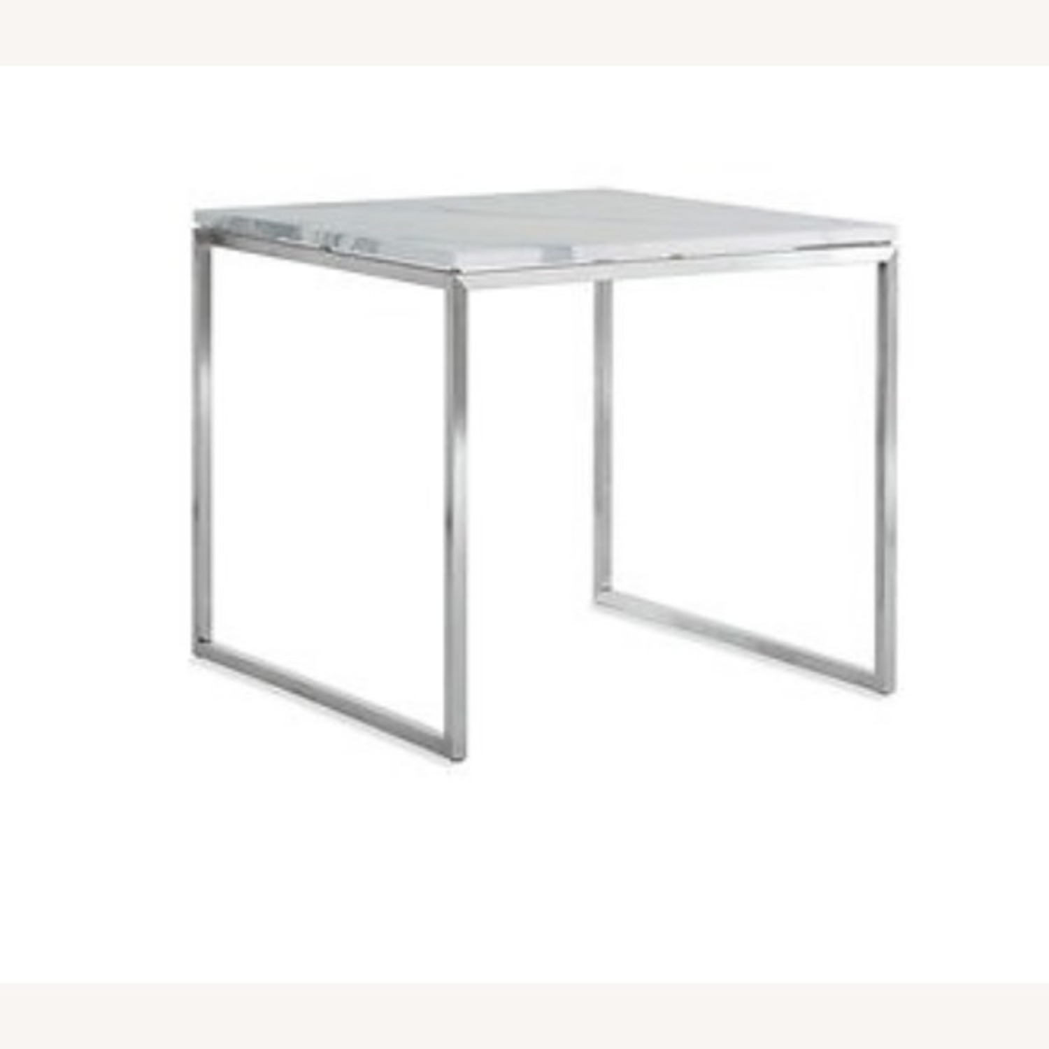 Design Within Reach Rubik Marble Side Tables - Pair - image-4