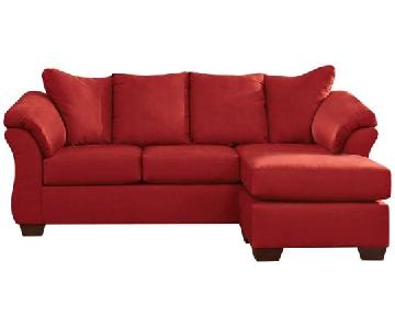 Ashley's Sectional Sofa w/ Reversible Chaise
