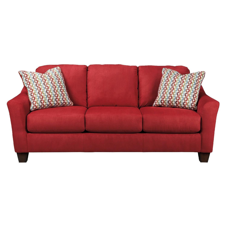 Ashley's Red Sofa