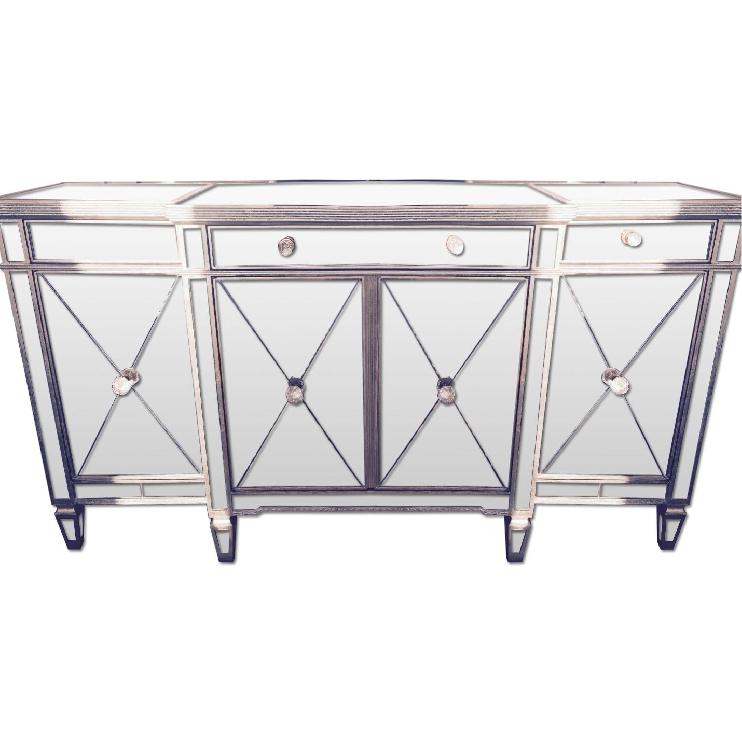 Z Gallerie Borghese Mirrored Buffet ...