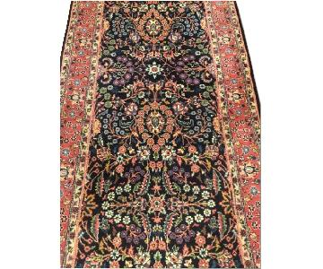 Shiraz Antique Persian Handmade Runner Rug