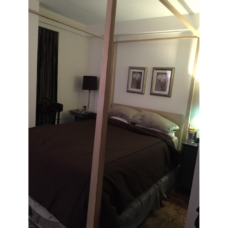 Calvin Klein Queen Canopy Bed