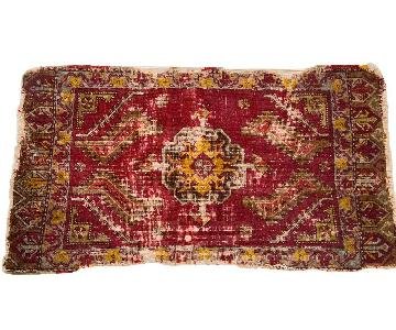 Old New House Antique Turkish Rug Mat