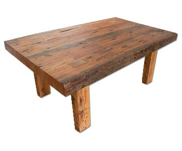 Rustic Reclaimed Wood Custom Dining Table