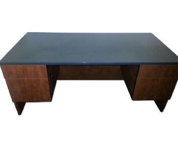Commercial Grade Desk w/ Scratch-Resistant Surface