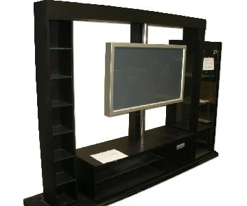 Michael Wolk Entertainment Wall Unit w/ Swivel TV Post