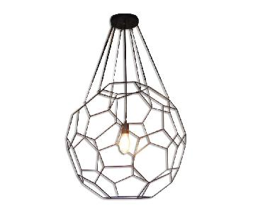 Oblik Studio Inc Truncated icosahedron Short Pendant Light
