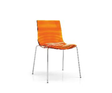 Calligaris L'eau Orange Dining Chair