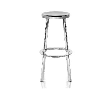 Magis Polished Aluminum Deja-vu Counter Stool
