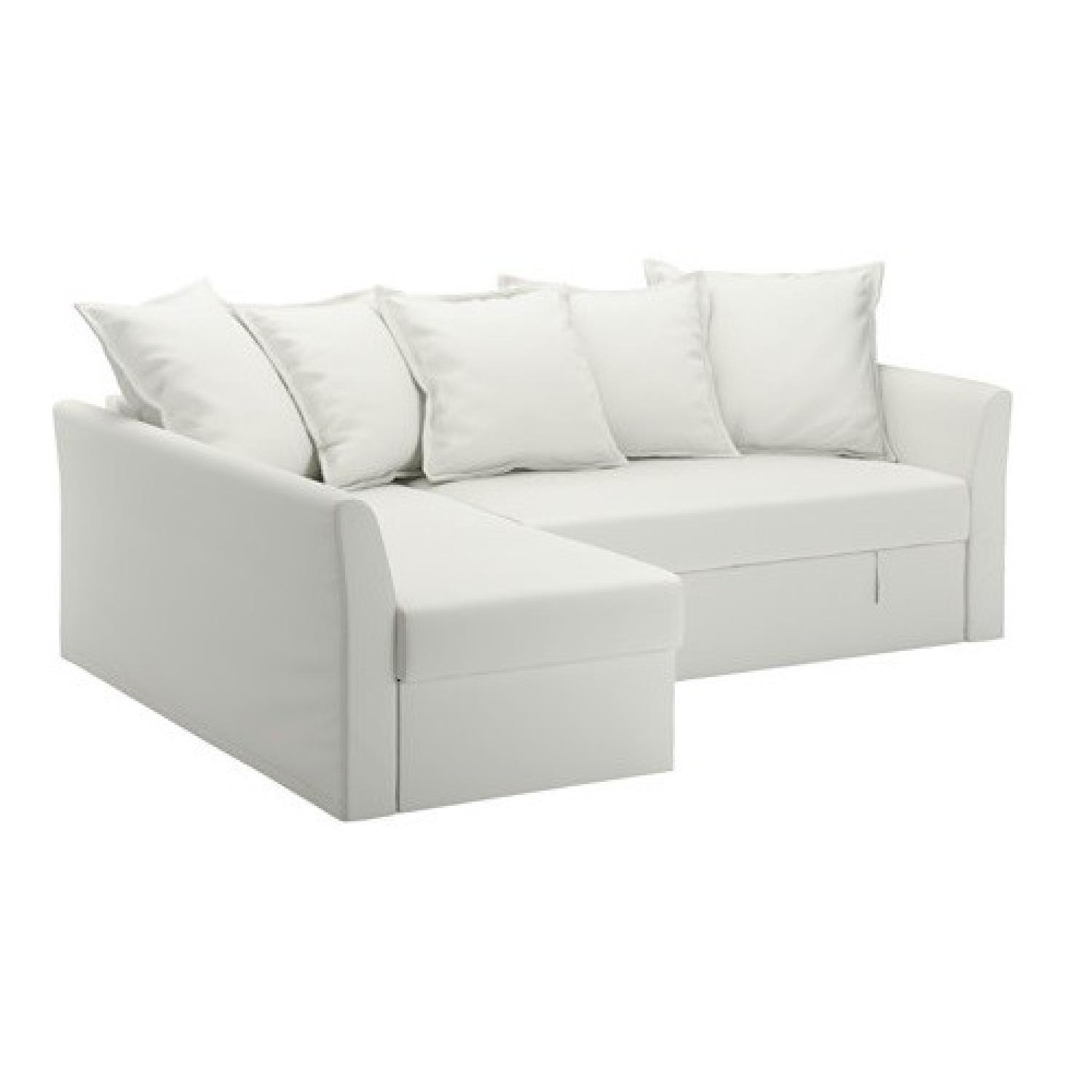 Ikea Holmsund Sleeper Sectional Sofa ...