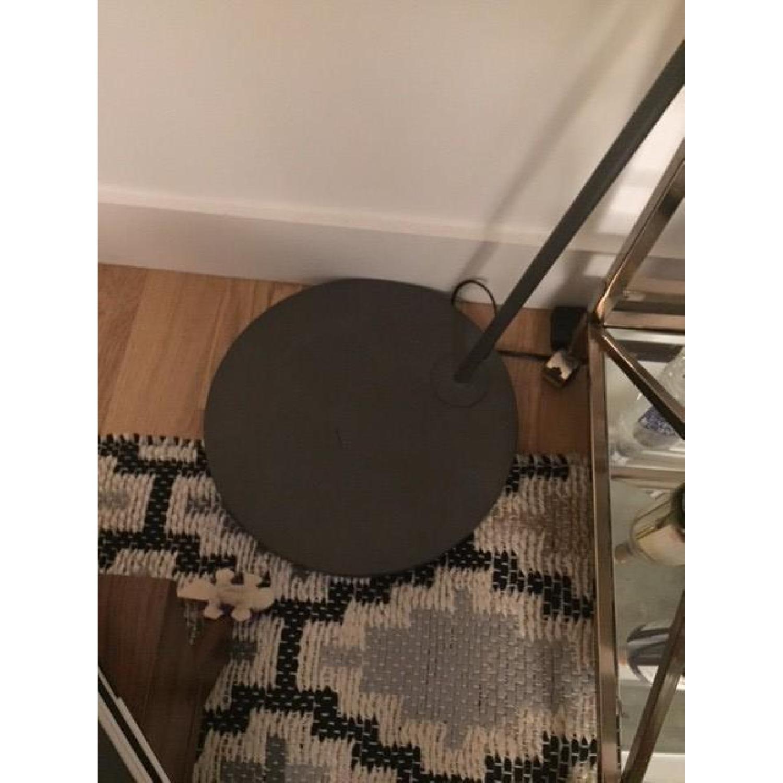 CB2 Polygon Floor Lamp w/ Subtle Wood Grain Pattern-2